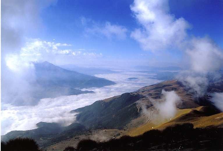 Panorama dal Monte Vettore